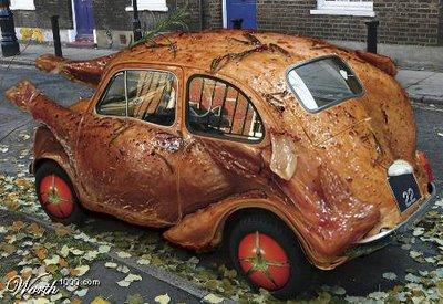 Chicken Vw Art Car Clickmechanic