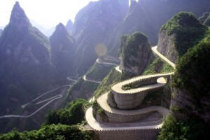 Heaven Linking Avenue - Hunan Province, China.