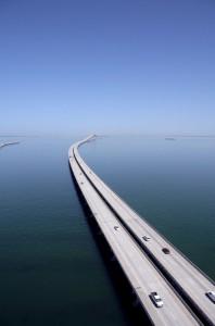 Sunshine Skyway Bridge - Tampa, USA baby!