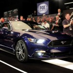First 2015 Ford Mustang Auctioned For Massive $300,000