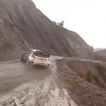 2014 Monte Carlo Rally Driver Over The Edge, Almost