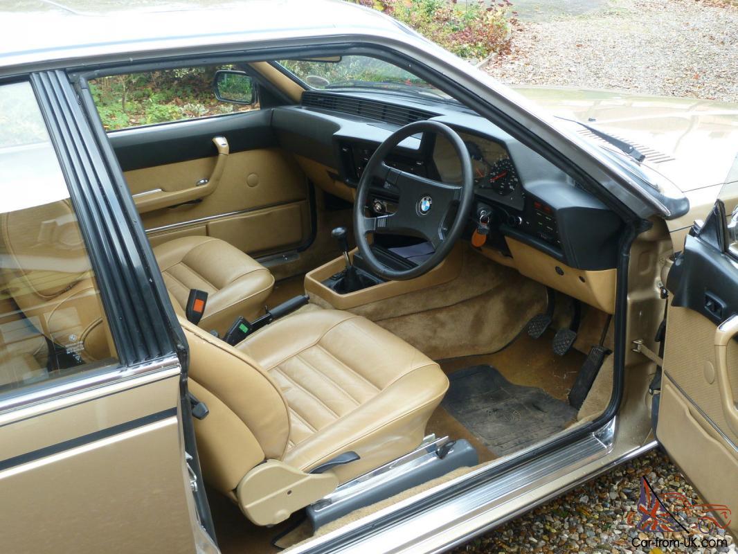 Kurt\'s Classics: 1978 BMW 635 CSi - ClickMechanic