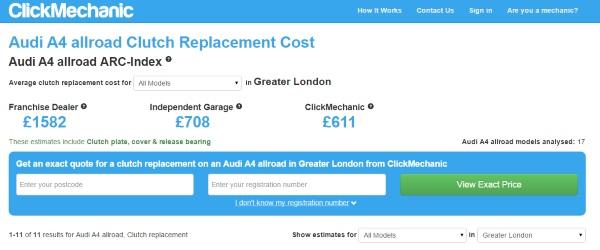 car repair estimator