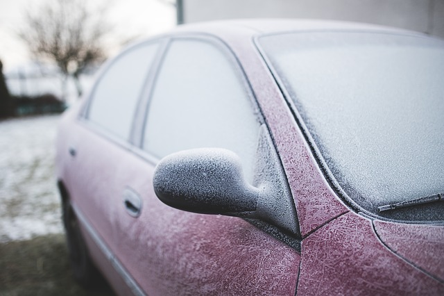 Frozen Car Window?