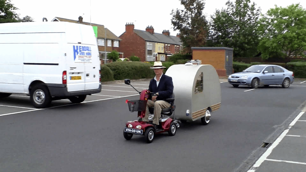 mobility scooter towing