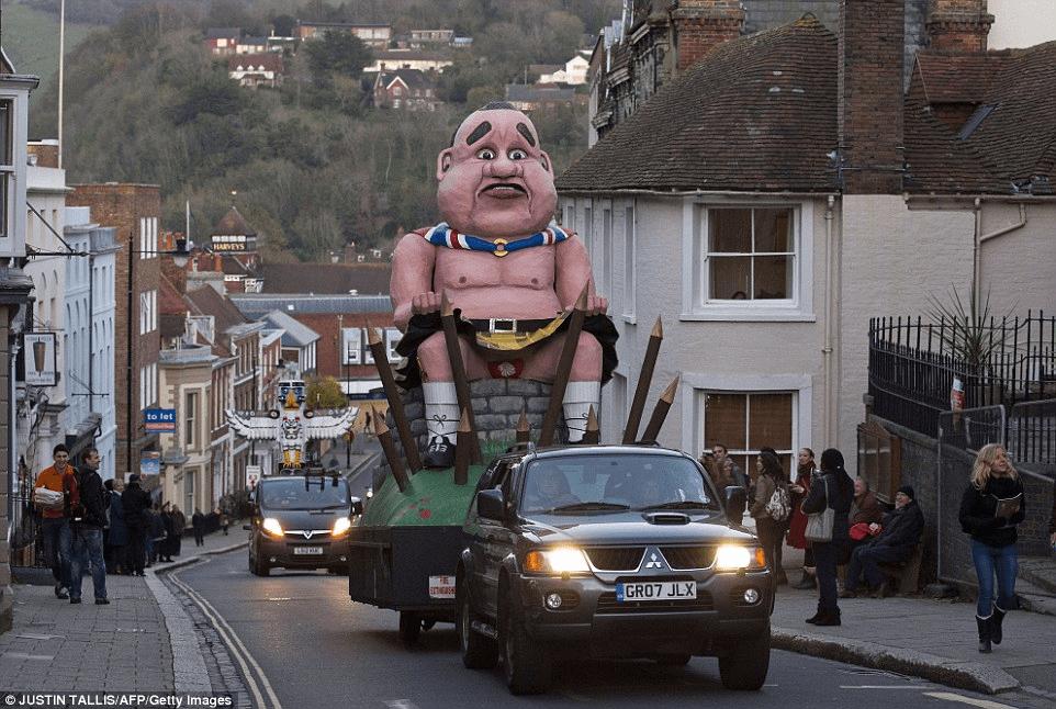 referendum effigy