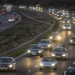 UK Drivers Are More Likely to Have an Accident Driving Home from Work in the Evening Than First Thing in the Morning