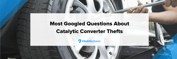 Most Googled questions about catalytic converter thefts